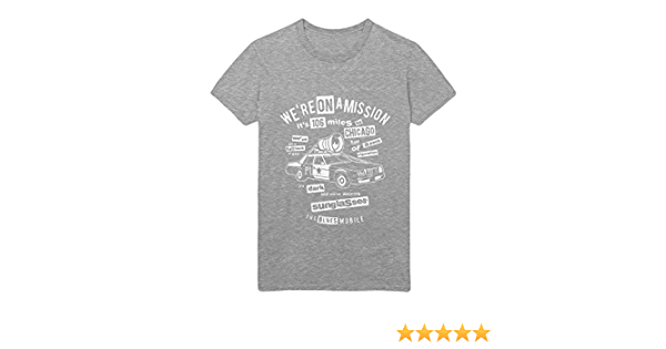 T Shirt The Blues Brothers Blues Mobile H23181 Bekleidung