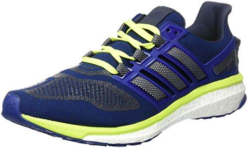 adidas Herren Energy Boost 3 Laufschuhe, Blau (Unity Ink/Ftwr White/Solar Yellow), 44 EU