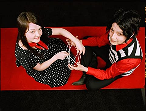 The White Stripes (18x14 inch, 46x35 cm) Silk Poster Affiche en Soie PJ1D-3150