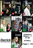 Derrick - Collector`s Box - Vol. 01 - 07 im Set - Deutsche Originalware [35 DVDs]