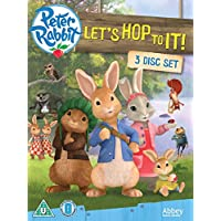 Peter Rabbit - Lets Hop To It Triple DVD Box Set