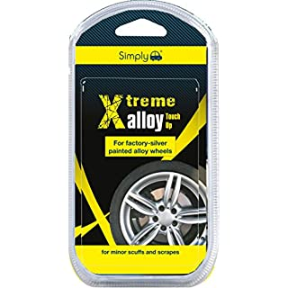Simply XAWT1 Xtreme Alloy Touch Kit, Fast & Easy Repair or Refurbishing to Minor Scuffs Scrapes to Alloy Wheels, 7 pieces