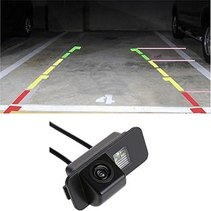 Navinio-Auto-Rckfahrkamera-in-Kennzeichenleuchte-Einparkhilfe-Fahrzeug-spezifische-Kamera-integriert-in-Nummernschild-Licht-fr-Ford-MondeoFiestaFocus-HATCHBACKS-MaxKuga