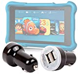 "DURAGADGET 1 USB Port Car Charger Adapter for Amazon Fire HD Kids Edition Tablet 6"" & Amazon Fire HD Kids Edition Tablet 7"""