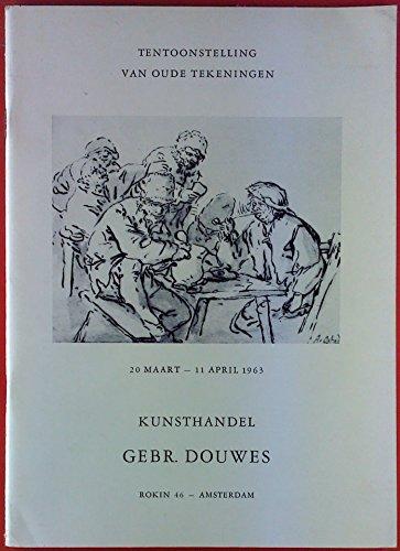 Tentoonstelling van oude tekeningen, Maart -April 1963.