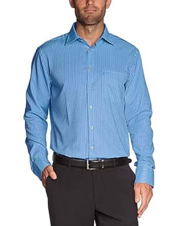 Seidensticker Herren Businesshemd Regular Fit 185056, Gr. 39, Blau (14 hellblau)