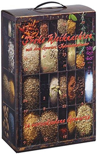 Adventskalender mit Gourmet-Gewürzen exklusiv für Amazon, 1er Pack