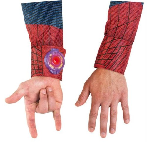Herren Kinder Kostüm Cosplay Spiderman Web Shooter D