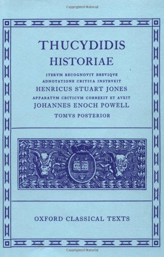 Thucydides Historiae Vol. II: Books V-VIII: Vol 2, bks.5-8 (Oxford Classical Texts)
