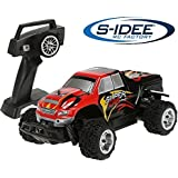 s-idee® 01666 S343 Truck mit 2,4 GHz 4WD bis 30 km/h 1:24 Buggy Monstertruck Vollproportional