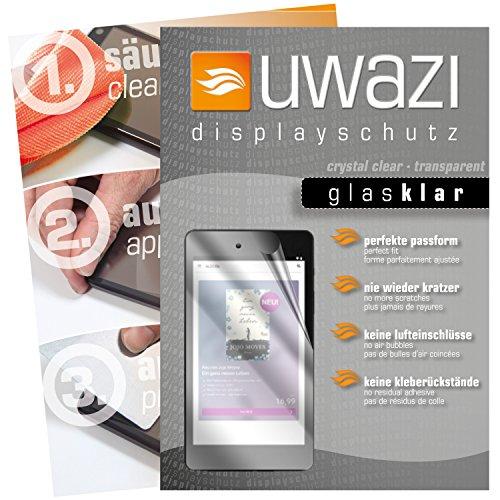Medion E6912Tablet eBook Reader Schutzfolie 3x uwazi glas-klare Displayschutzfolie Folie