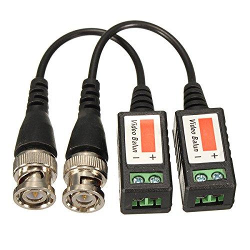 Doradus 2pcs cctv Kamera passives Video balun bnc Stecker koaxialer Kabeladapter -