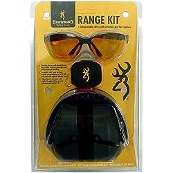 Browning 126368 Kit de Protection Ranger Mixte Adulte, Noir