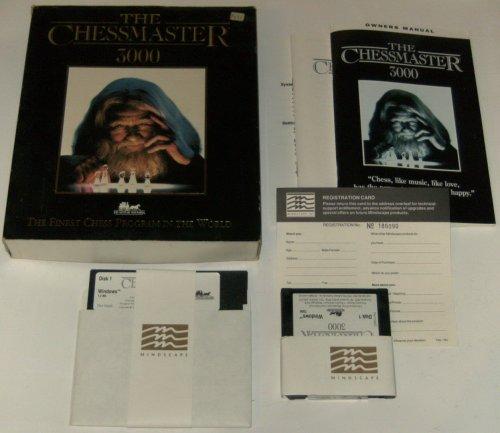 The Chessmaster 3000 - Eurobox 3,5/5,25 Disk (PC) gebr.