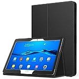 MoKo Etui Huawei MediaPad M3 Lite 10 - étui Fin et Pliable Housse Case pour Tablette Huawei MediaPad M3 Lite 10.0 Pouces, Noir (avec Automatique Réveil / Sommeil)