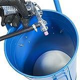 Mobiles Sandstrahlgerät - Injektorstrahler 50 Liter - Mobiler Sandstrahlkessel zum Entlacken, Entrosten und Reinigen von verschiedenen Materialien
