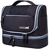 House Of Sensation Travel Hanging Accessories Toiletry Kit With Dry And Wet Separation 2-Layer Design Organizer