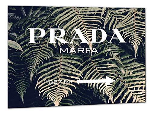 Kuader Prada Marfa Gossip Girl Vintage Farn Prada Bild Druck Auf Leinwand Für Den Innenausbau Pro41, 50x70 cm