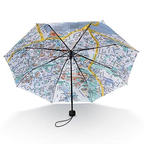 """Taschen-Regenschirm """"Leipzig Rainmap"""""""