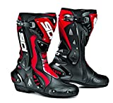 Sidi ST Motorbike Motorcycle Sports On Road Racing Boots, Black/ Red - Red - Best Reviews Guide