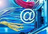 druck-shop24 Wunschmotiv: email symbol on Network switch and ethernet cables,Data Center C #110394304 - Bild als Klebe-Folie - 3:2-60 x 40 cm/40 x 60 cm