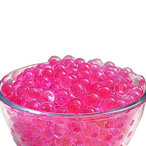 L'Eau Aqua Perles Vase non toxique Perle de cristal Gel de remplissage de cuisine Maison Décoration de table pour fête d'anniversaire de mariage–1000pcs par Trimming