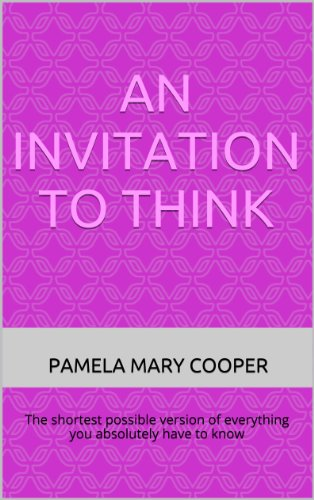 An Invitation to Think