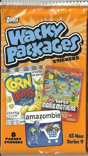 TOPPS WACKY PACKAGES SERIES 9 STICKER Pack