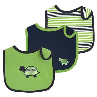 Yoga Sprout 90104 3x Lätzchen Set für Babies, 3 verschiedene Designs