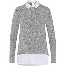 Suchergebnis auf für: pullover mit bluseneinsatz damen
