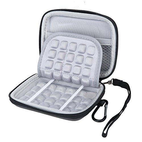 P3 Dual-karte (Teepao EVA Hoher Stoßsicherer Tragender Reise-Kasten, Elektronik-Zusatz-Tasche für für Tragbare Externe Festplatte / GPS-Kamera / Externer Batterie-Satz)