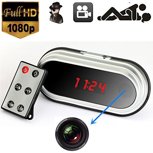 ZVision HD 1080P Spy HDMI Camcorder Hidden Alarm Clock Camera DVR Digital Video Recorder  available at amazon for Rs.4500