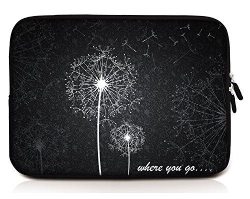 Sidorenko 14-14,2 Zoll Laptop Hülle für Notebook, MacBook Pro / Laptoptasche aus Neopren, 42 Designs zur Auswahl, Grau (Tasche 2 Laptop-tasche)