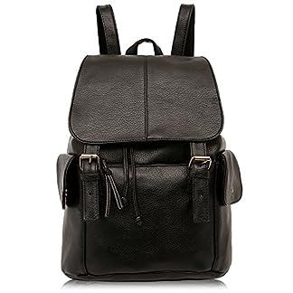 51O%2B IqvpIL. SS324  - Outreo Mochilas Escolares Mujer Bolso Cuero Bolsos Mochila de Viaje bolsos de Piel para Colegio Vintage PU Casual Bag