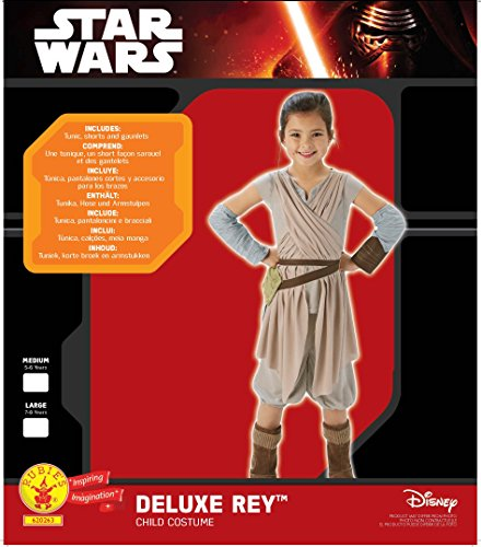 Imagen de star wars  disfraz deluxe de rey para niños, talla 7 8 años rubies 620263 l  alternativa
