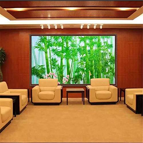 Benutzerdefinierte Tapete Ultra HD Bamboo Forest Landscape Wall pared,500×350cm