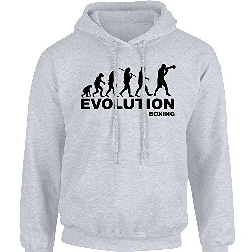 iClobber Evolution of Boxing Hoodie Hoody