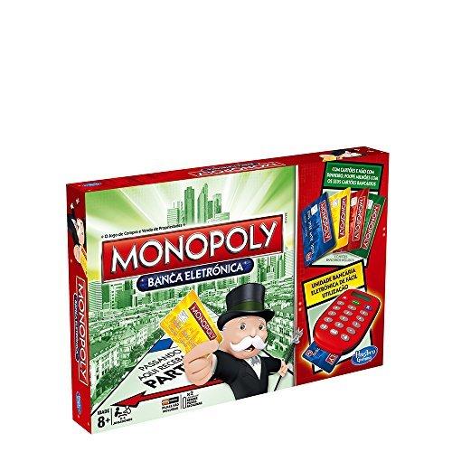 Juegos en Familia Hasbro Hasbro Gaming Monopoly Brettspiel, elektronisch (a7444190) (Portugiesische Version)