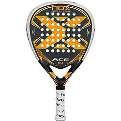 Nox Ace B.1 - Pala de pádel, color naranja