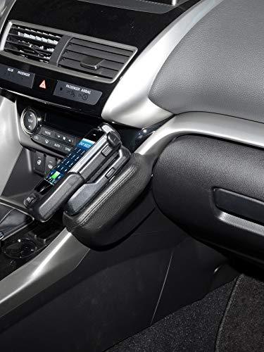 KUDA 3220 Halterung Echtleder schwarz für Mitsubishi Eclipse Cross ab 10/2017 Eclipse Handy