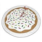 Myrdora Weihnachten besprühen Donut Cute Sweets Weihnachtsbaum Rock Plüsch Baum Rock Ornamente für Xmas Party und Urlaub Dekorationen