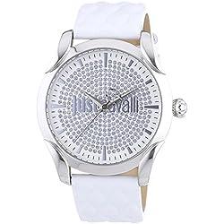 Just Cavalli Damen-Armbanduhr Analog Quarz Leder R7251593501