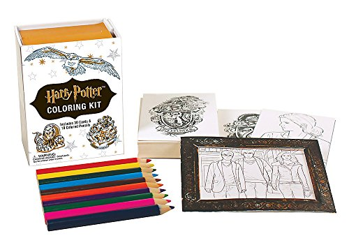 Harry Potter Coloring Kit (Miniature Editions)