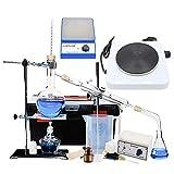 Mezclador Magnético De Laboratorio Agitador Unidad De Destilación De Vidrio Equipo De Laboratorio Químico Horno Eléctrico Agua Sistema Circulatorio Cristalería Espesada Completa Destilador Filtr
