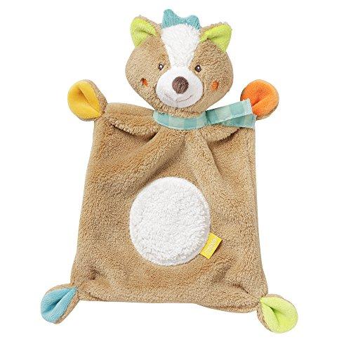 Fehn 071634 Schmusetuch Fuchs / Schnuffeltuch mit Fuchs-Köpfchen zum Greifen, Fühlen, Knuddeln und Liebhaben für Babys und Kleinkinder ab 0+ Monaten