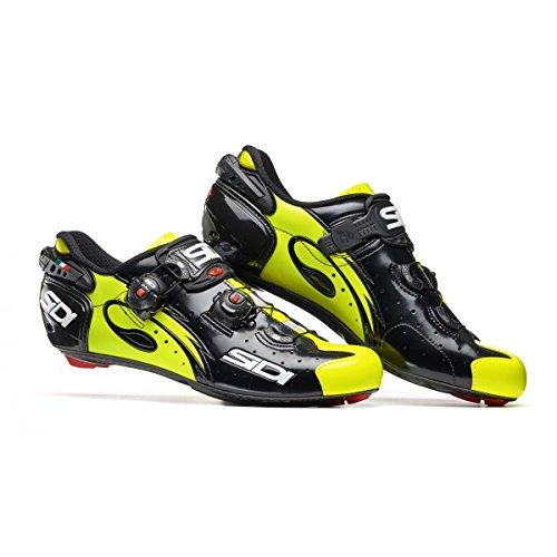Chaussures route WIRE CARBON 2017 Running Trail Sidi noir/jaune