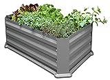 Eider Landgeräte GmbH Koll Living Hochbeet/Frühbeet für Terrasse oder Balkon, 50 x 80 x 30 cm
