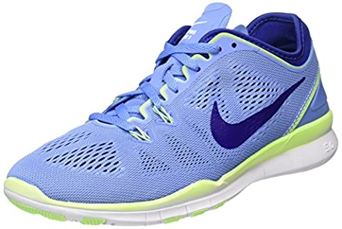 Nike Damen Wmns Free 5.0 TR FIT 5 Hallenschuhe, Blau (Chalk Blue/Deep Royal Blue/Ghost Green/White 402), 38.5 EU