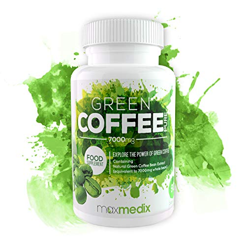 Green Coffee Puro - Suplemento De Café Verde Para Adelgazar - Ayuda A Perder Peso Y A Quemar Grasa De Forma Eficaz - Potente Formula De 7000mg De Café Verde Natural (1)