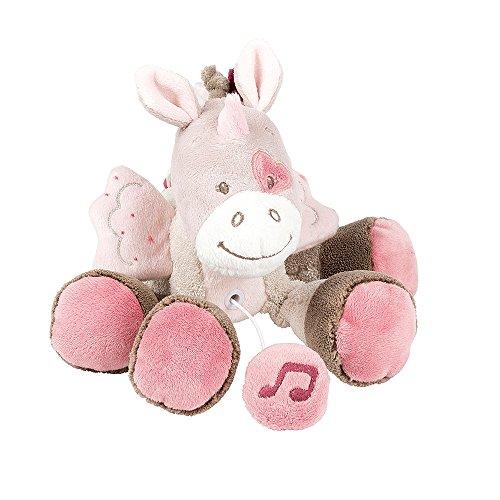 Nattou Mini Spieluhr, Mädchen, 20 cm, rosa - Jade der Einhorn